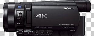 4K Resolution Video Cameras Handycam Sony PNG