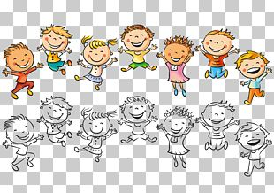 Child Drawing Happiness Illustration PNG