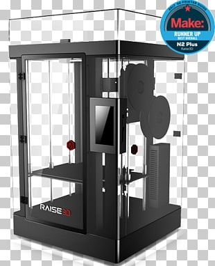 Raise3D 3D Printing Extrusion Printer PNG