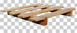 Pallet Box Crate Lumber Wood PNG