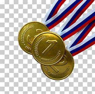 Gold Medal Gift Award Silver Medal PNG