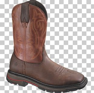 Shoe Cowboy Boot Leather Steel-toe Boot PNG
