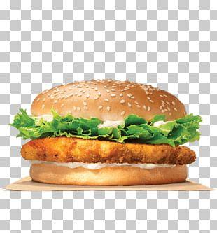 Chicken Sandwich Whopper Hamburger Crispy Fried Chicken Big King PNG