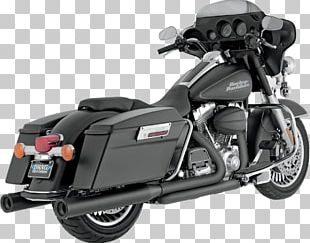 Exhaust System Harley-Davidson Touring Vance & Hines Muffler PNG