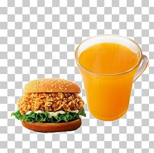Hamburger Fast Food KFC French Fries Chicken Salad PNG