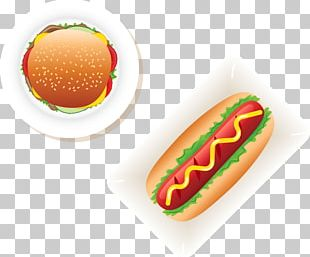 Hot Dog Hamburger Fast Food Cheeseburger Barbecue PNG