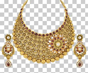 Earring Jewellery Necklace Gold Pearl PNG