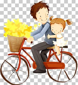 Father Child Baby Transport Happiness PNG