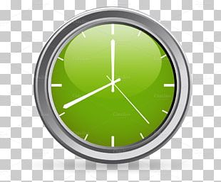 Circle Clock PNG