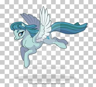 Marine Mammal Horse Fairy Cartoon PNG
