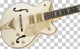 Gretsch White Falcon Twelve-string Guitar Musical Instruments String Instruments PNG