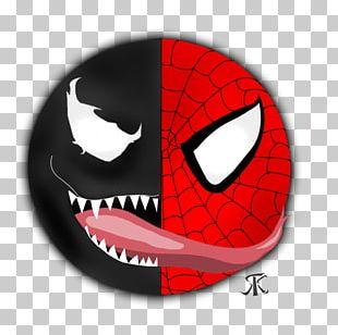 Venom Spider-Man Drawing Yin And Yang Comics PNG