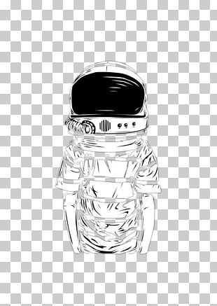 Glass Bottle Black And White Pattern PNG