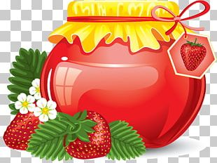 Juice Strawberry Fruit Preserves PNG