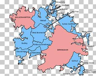 Wolverhampton West Midlands Conurbation Sutton Coldfield Black Country PNG