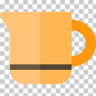 Coffee Cup Cafe Yellow Font PNG
