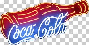 Fizzy Drinks Diet Coke Light Coca-Cola Neon Sign PNG