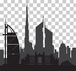 Dubai Silhouette PNG