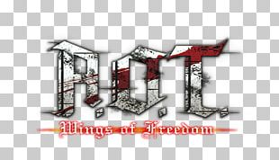 A.O.T.: Wings Of Freedom PlayStation 4 Attack On Titan Logo Anime PNG