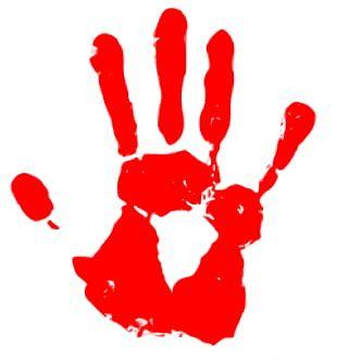 Purple Hand Symbol LGBT Violet PNG