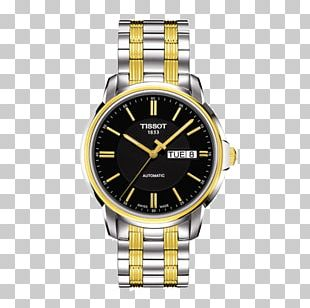 Tissot Automatic Watch Swiss Made Retail PNG