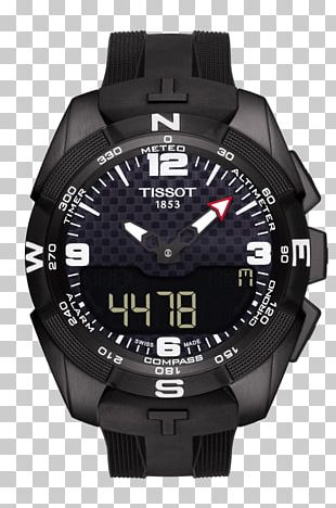 Tissot Solar-powered Watch Watchmaker Strap PNG