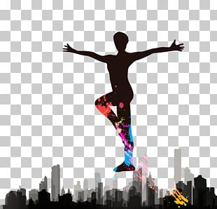 Aerobics Dance Silhouette PNG