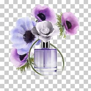 Perfume Cut Flowers Purple Musk PNG