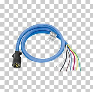 Trailer Connector Electrical Connector Towing Electrical Cable PNG