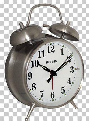 Big Ben Alarm Clock Nightstand Westclox PNG