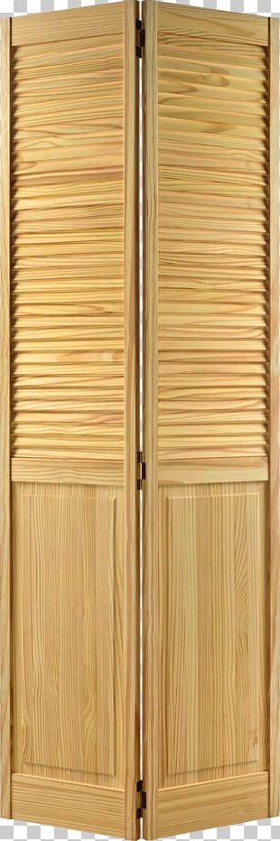 Folding Door Window Wood Louver PNG