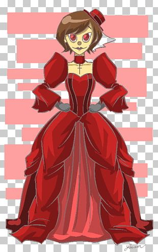 Costume Design Cartoon Gown PNG