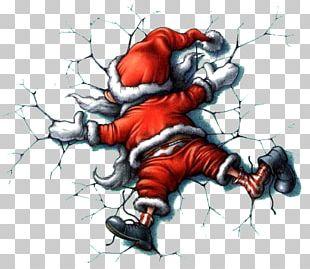 Santa Claus Christmas Card Quotation Humour PNG