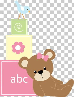 Baby Shower Wedding Invitation Teddy Bear Convite PNG
