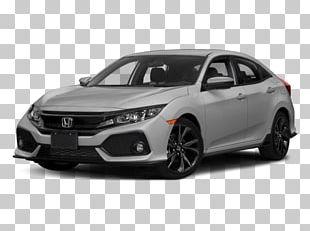 2018 Honda Civic Sport Car Hatchback Vehicle PNG