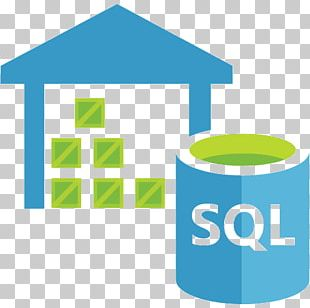 Microsoft Azure SQL Database Data Warehouse PNG