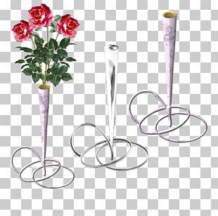 Cut Flowers Vase Floral Design PNG