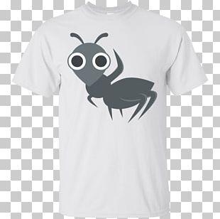 Emoji T-shirt Ant Text Messaging Symbol PNG