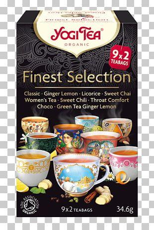 Green Tea Masala Chai Assam Tea Yogi Tea PNG