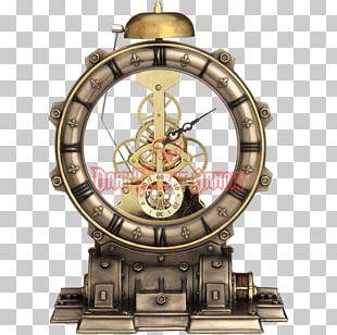 Steampunk Mantel Clock Striking Clock Movement PNG