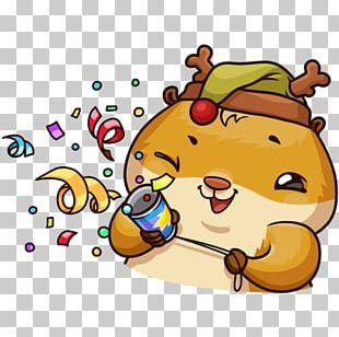 VKontakte Sticker Telegram Hamster PNG
