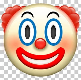 Clown Apple Emoji PNG