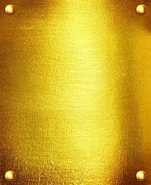 Gold Texture Mapping PNG