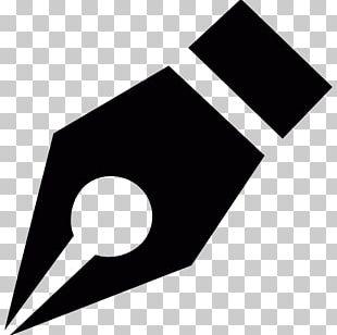 Fountain Pen Logo Marker Pen PNG