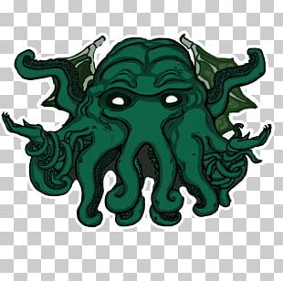 Octopus Cthulhu Telegram Sticker Anubis PNG