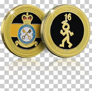 Commemorative Coin Gold Silver Royal Air Force PNG