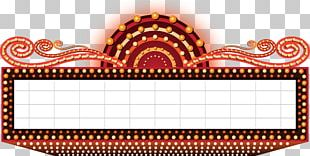 Cinema Marquee PNG