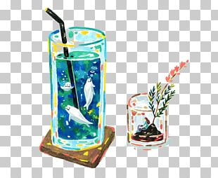 Glass Deep Sea Fish Cartoon PNG