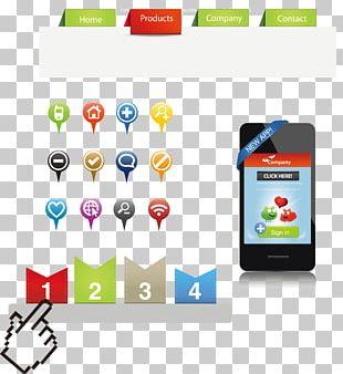 Mobile App Template Web Design PNG