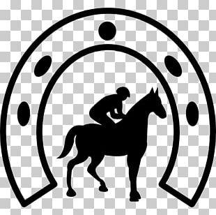 Tennessee Walking Horse Horseshoe Jockey Equestrian Polo Pony PNG